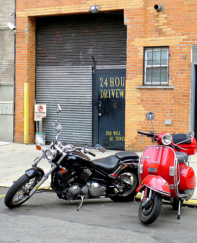 East Village Motorcycle Storage :: Indoor Motorcycle Parking